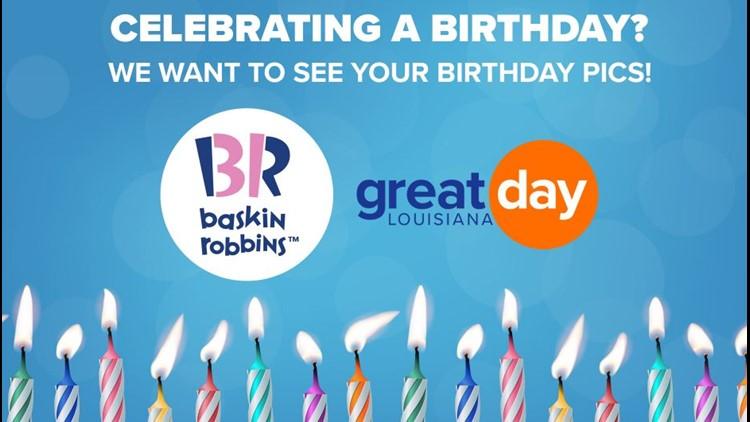 Baskin-Robbins Great Day Birthdays!