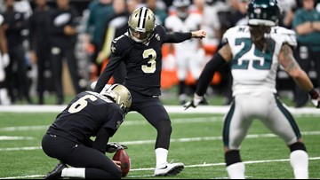 Wil Lutz signs 5-year deal with New Orleans Saints