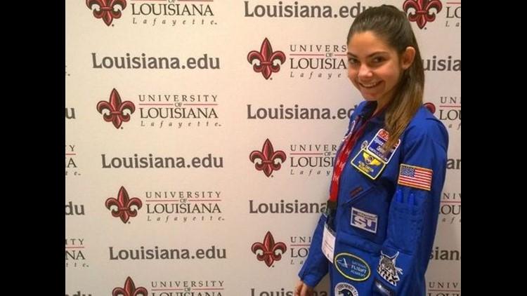 Alyssa attended a Women's Conference at UL Lafayette. (Photo: COURTESY OF ALYSSA CARSON)