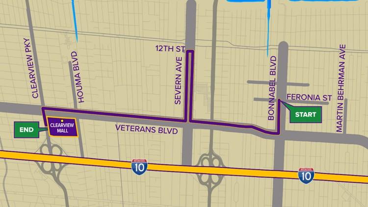 Krewe of Atlas 2020 parade route