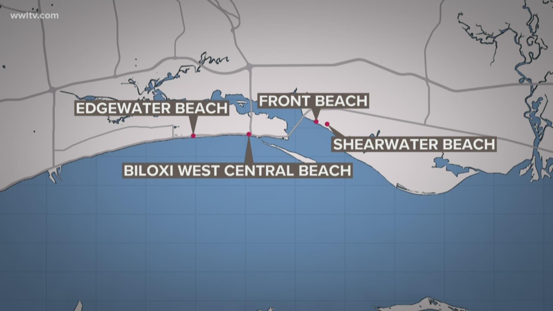 Harmful Algae Bloom Closes More Mississippi Beaches Wwltv Com