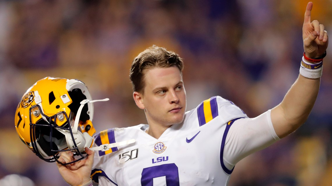 Heisman-winner Burrow's message: Stay inside, listen to leaders, Go Tigers