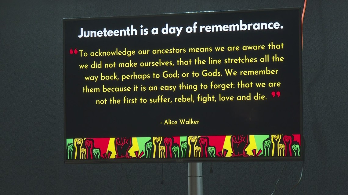 Blood drive held in honor of Juneteenth