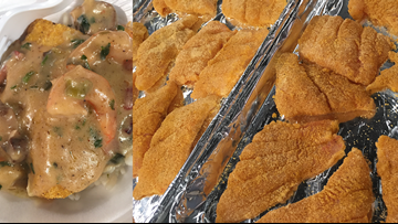 Recipe: Chef Kevin Belton's Baked Catfish with Bienville Sauce