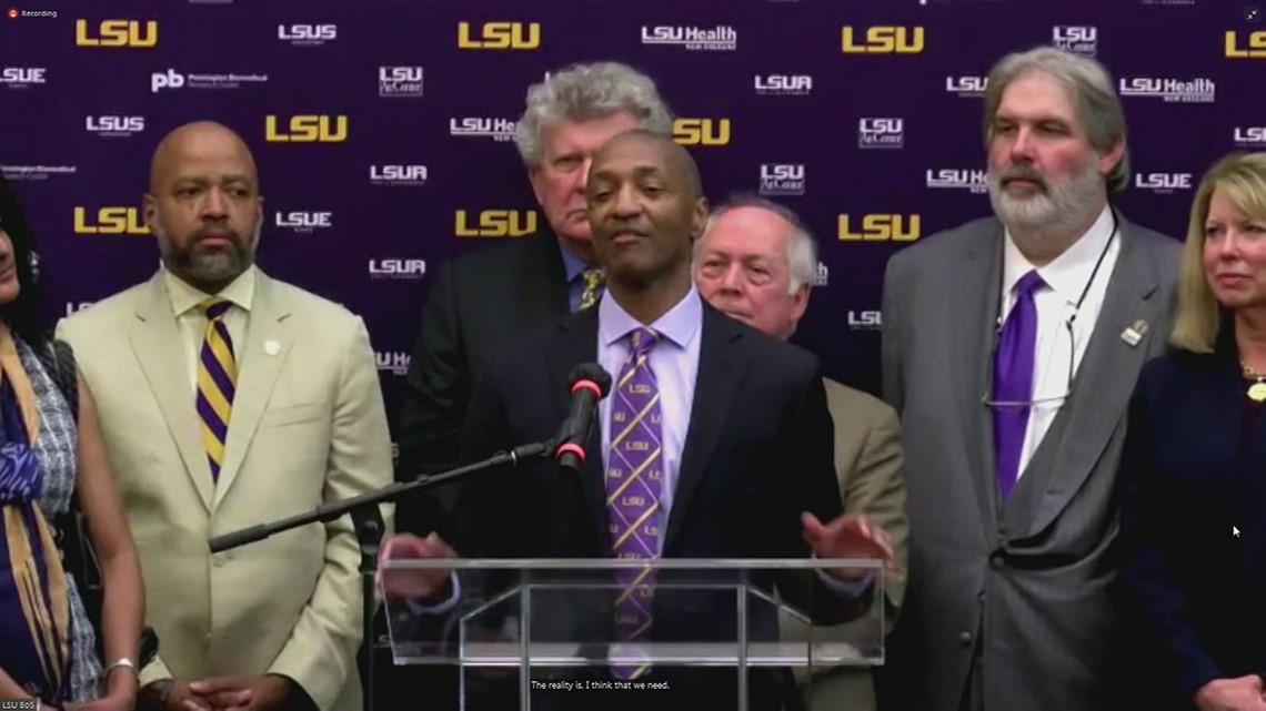 LSU elects university's first black president, William Tate