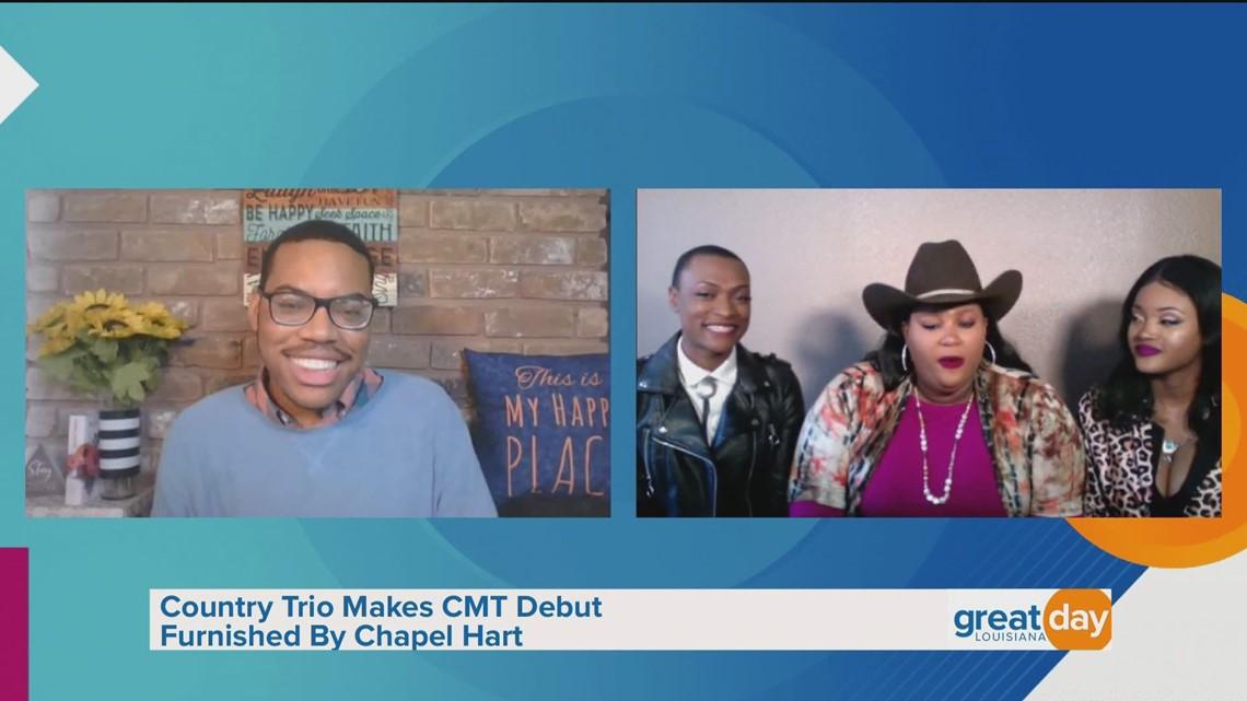 Chapel Hart Discusses CMT Debut