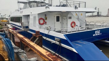RTA's new Algiers-Canal Street ferry boats awaiting final inspection