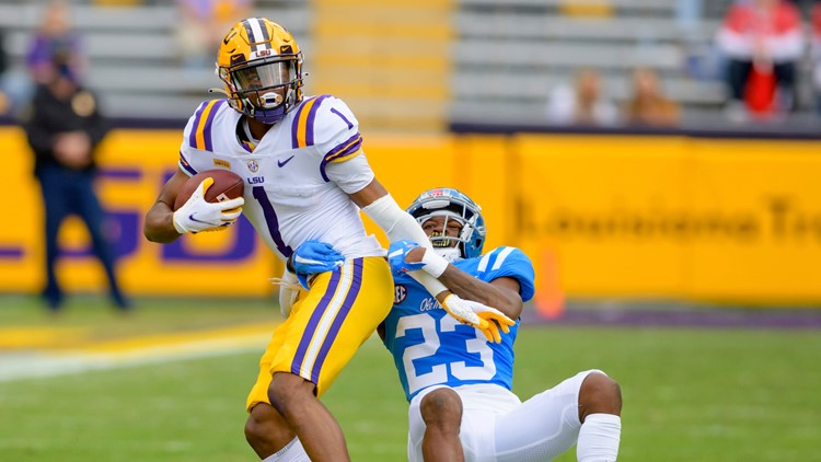 Boutte's record day lifts LSU past Ole Miss, 53-48