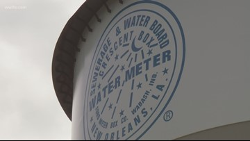 Report: Half of Sewerage & Water Board's water lost to leaks