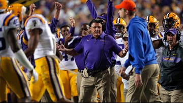 Coach Orgeron: LSU receiver Terrace Marshall not yet ready