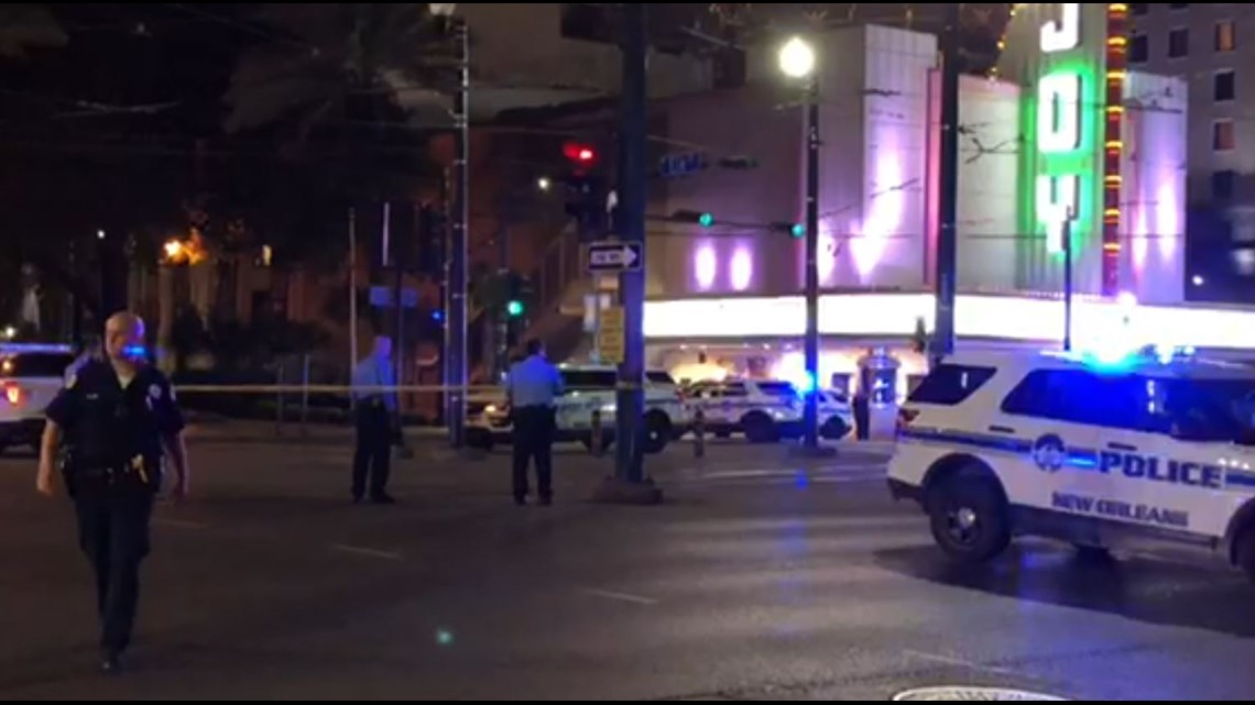 Canal Street completely blocked off after multiple people shot Sunday night