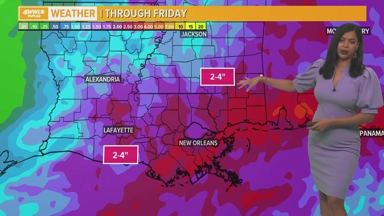Nicholas Keeps Rain Threat Over Southeast Louisiana