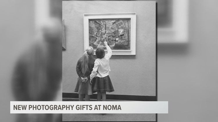 NOMA's photography department gifted historical photographs, expanding museum collection