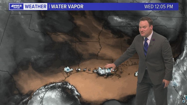 Scattered Showers Thursday; Drier Friday, Saturday