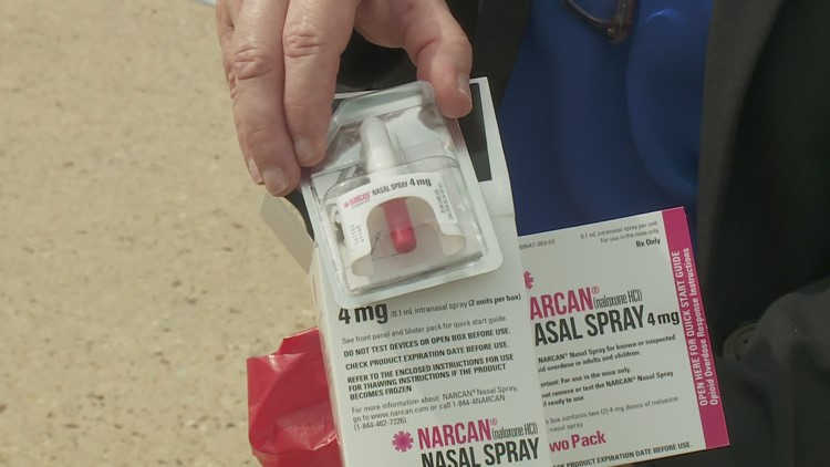 Northshore fire station now distributing life-saving Narcan