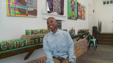 New Orleans artist Journey Allen benefits from Propeller Program