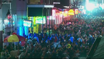 Bourbon Street still buzzing as Fat Tuesday comes to a close