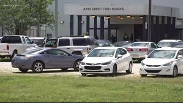 13 students arrested, gun found at John Ehret High after several brawls