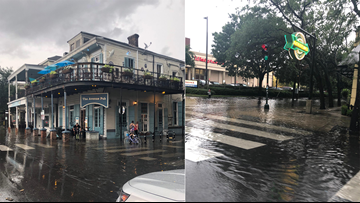 Again? Residents question city drainage after Saturday storm floods Downtown, Magazine Street