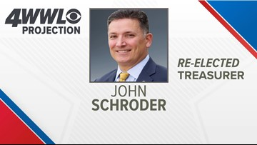John Schroder re-elected as Louisiana treasurer