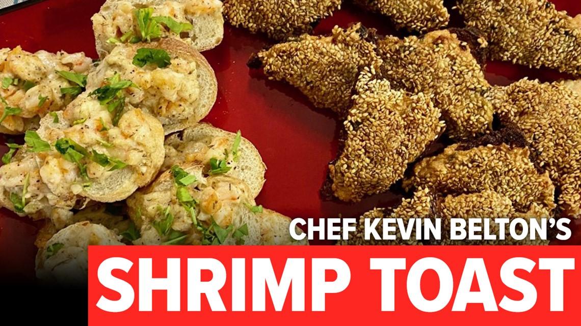 Recipe: Chef Kevin Belton's Shrimp Toast