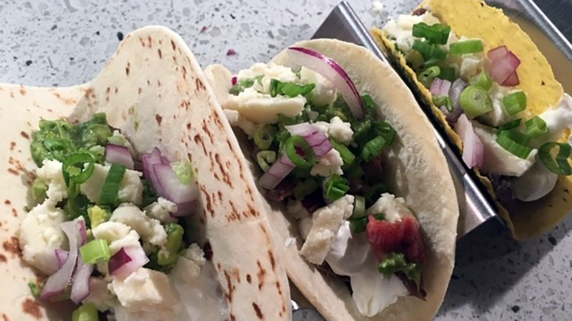 Recipe: Lime and Jalapeno Flank Steak Tacos by Chef Kevin Belton