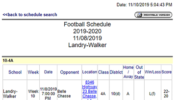 Landry-Walker victory forfeited, Belle Chasse makes playoffs, LHSAA says