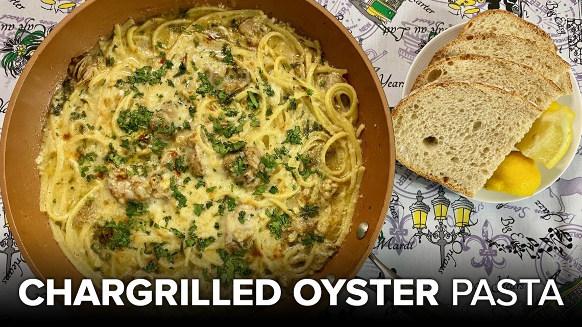Recipe: Chef Kevin Belton's Chargrilled Oyster Pasta