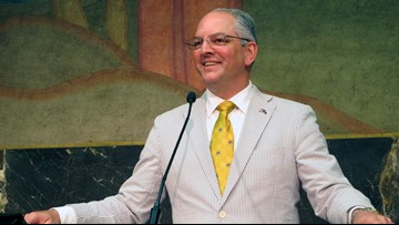 Edwards signs $700M Louisiana roadwork bill paid by BP money