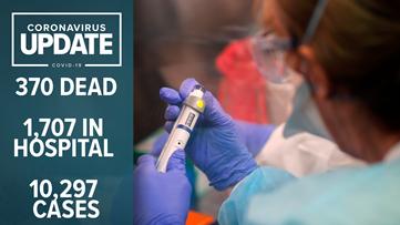Louisiana Coronavirus Updates: 370 deaths, 10,297 cases statewide