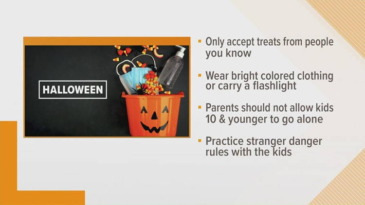 Crimestoppers | Halloween Safety tips