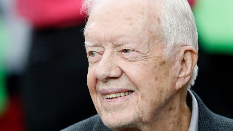 President Jimmy Carter pens letter read during Rep. John Lewis' funeral