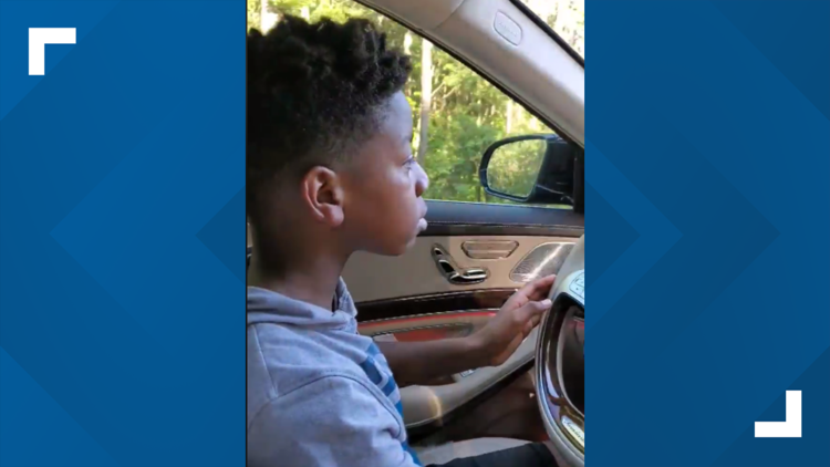 11-year-old jumps behind the wheel to save grandma suffering medical emergency