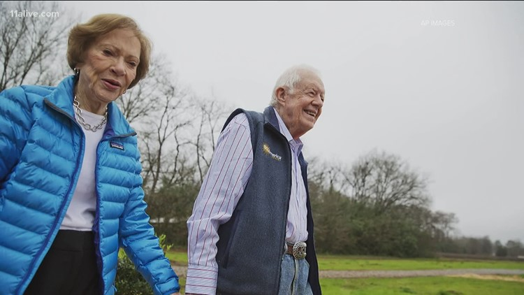 A marriage 75 years in the making | Jimmy and Rosalynn Carter celebrate their anniversary