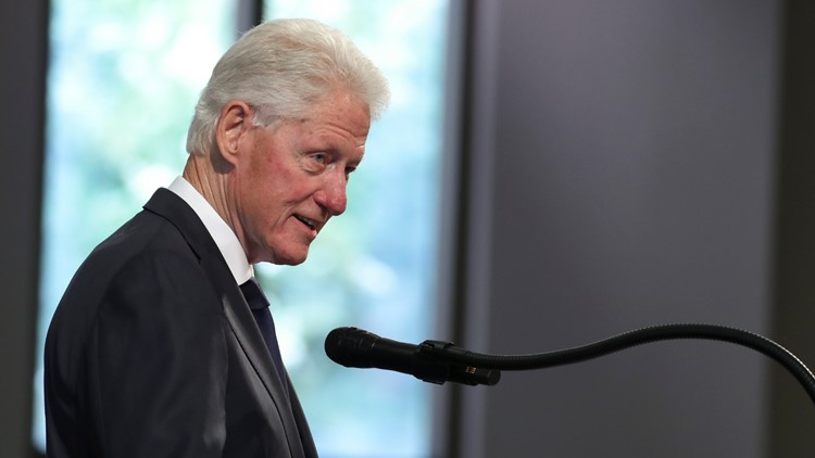Bill Clinton reminds us of John Lewis' lasting message: 'Keep moving'