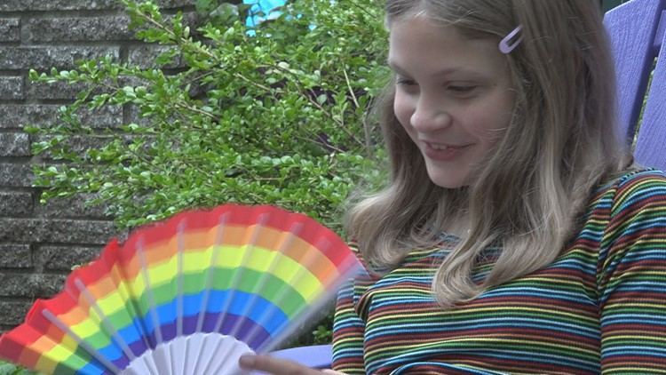 12-year-old girl, mom plan neighborhood Pride parade