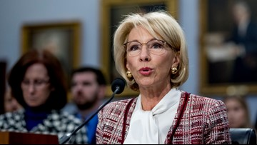 Education Secretary DeVos defends cutting Special Olympics funding in budget proposal
